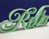 3D Slova Od Stiropora