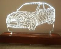 3d led lampa cene